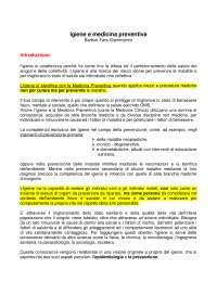 Igiene e medicina preventiva Barbuti, Fara, Giammanco