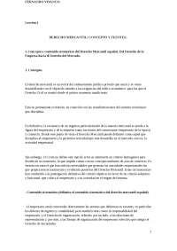 Tema 1 Derecho Mercantil esquema