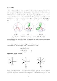 Notes sur le modèle classique de la liaison chimique - 2° partie