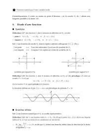 Notes sur l'analyse mathématique - 2° partie