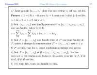 Notes sur les espaces vectoriels - 3° partie