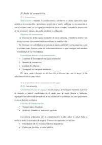 Apuntes de Ingeniería Química - Redes de saneamiento - TEMA VIII