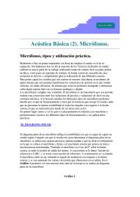 Acustica Basica II - Microfonos