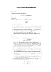 Exercice - Math - l'ensemble des matrices carrées