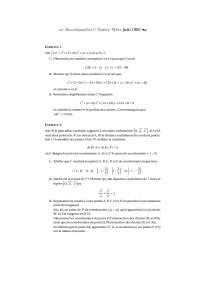 Série de modélisation mathématique – exercices 6