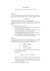 L'analyse numérique – examen d'algèbre – 8