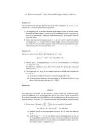 Exercitation – sciences mathèmatiques 1