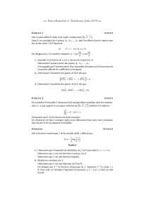 Sciences mathématiques - exercitation 17