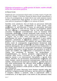 Mario Scotti L'Europa nel pensiero e nella poesia di Dante (1)