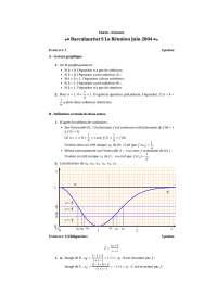 Correction - exercices – algèbre – 1