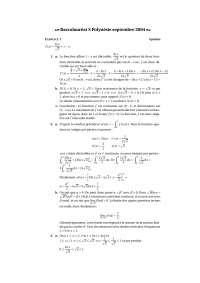 Correction - exercices – algèbre – 3