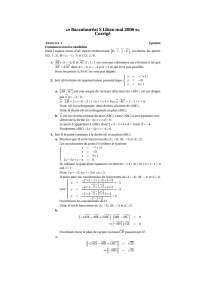Corrigé – exercices de géométrie – 7