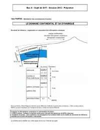 Examen de biologie/géologie 9