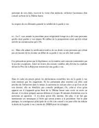 Notes sur la procédure pénale - 3° partie