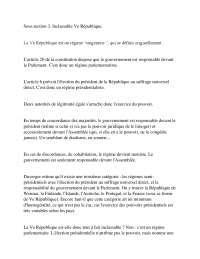 Notes sur les institutions politiques - 2° partie