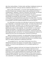 Notes de droit communautaire - 2° partie