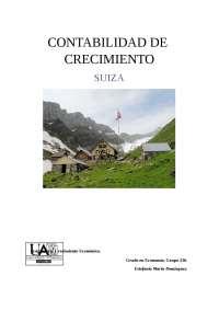 trabajo  de crecimiento económico de Suiza