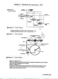 Examen sur l'étude d'un système pluri technique - correction