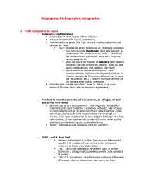 Notes sur l'étude d'une oeuvre, H. Arendt