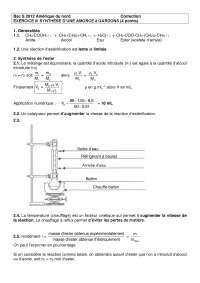 Chimie organique - contrôle 7 - correction