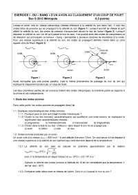 Chimie organique - contrôle 10