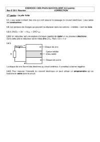 Chimie organique - contrôle 6 - correction