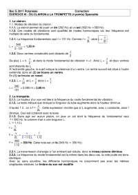 Travaux pratiques de sciences physisques 14 - correction