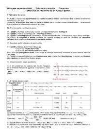 Travaux pratiques - biochimie 12 - correction