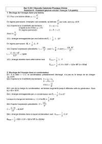 Travaux pratiques de physiques 11 - correction