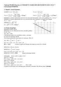 Contrôle de chimie physique 2 - correction