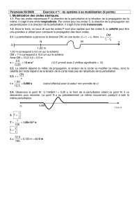 Exercitations de physique des dispositifs sur le système à sa modélisation - correction