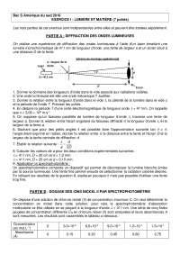 Exercices sur les concepts de physique 15