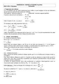 Exercitations de physique avancée 2 - correction