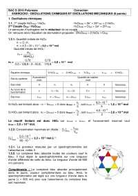 Travaux pratiques de physique avancée 6 - correction