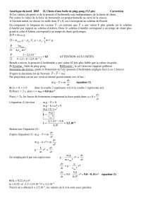 Exercices de physique mathématiques 4 - correction