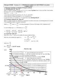 Contrôle de physique mathématiques 4 - correction