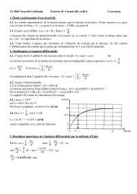 Exercices de physique mathématiques 2 - correction