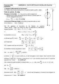 Exercitations de physique mathématiques 8 - correction