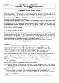 Exercitations de physique mathématiques 3 - correction