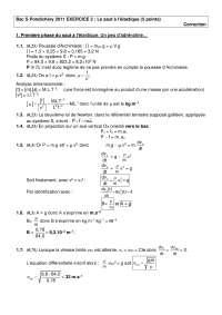 Exercitations de physique mathématiques 9 - correction