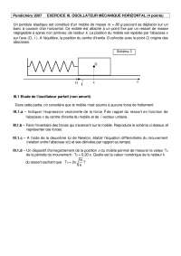 Exercitations de physique mathématiques 5 - correction
