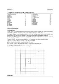 Notes de sciences mathèmatiques 4 - 1° partie