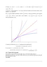 Exercices - fonctions - 3° partie - correction