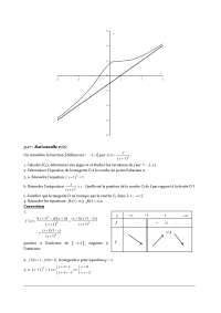 Exercices - fonctions - 2° partie - correction