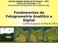 AULA 11-Fotogrametria , Notas de aula de Geodésia e Cartografia