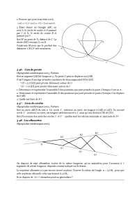 Contrôle de mathématique - les olympiades académiques de mathématiques - 3° partie