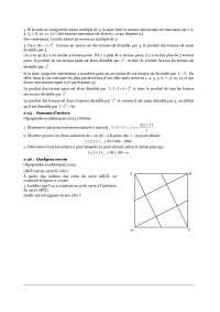 Contrôle de mathématique - les olympiades académiques de mathématiques - 2° partie