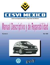 Manual descriptivo y de reparabilidad N°. 3 1998 - Wolkswagen Golf A-3