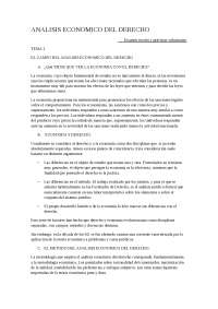 Resumen analisis economico del derecho