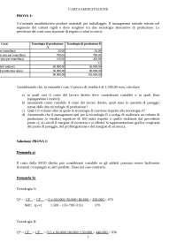 8.2 Esercitazione 4 - BEA, profittogramma e MS Soluzione